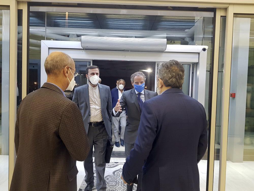 Глава МАГАТЭ Рафаэль Гросси все-таки прибыл в Тегеран