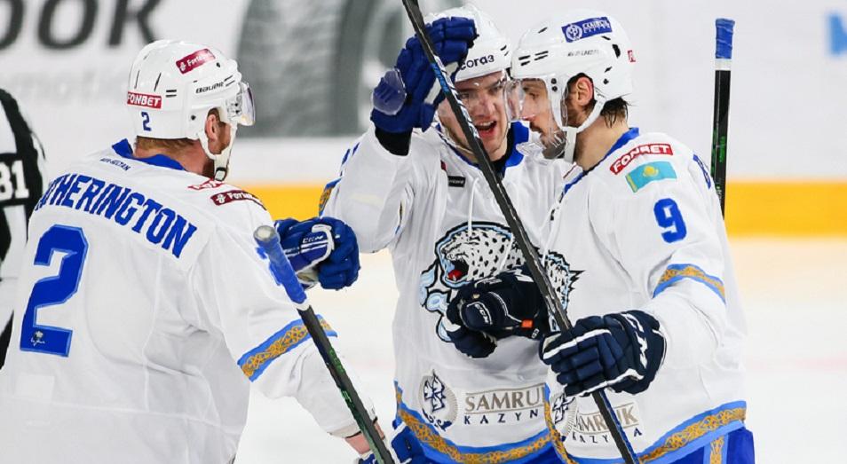 «Барыс» привозит победу из Екатеринбурга