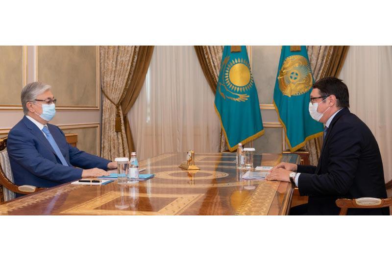Председатель «Самрук-Казына» рассказал президенту РК о планах по модернизации газотранспортной инфраструктуры
