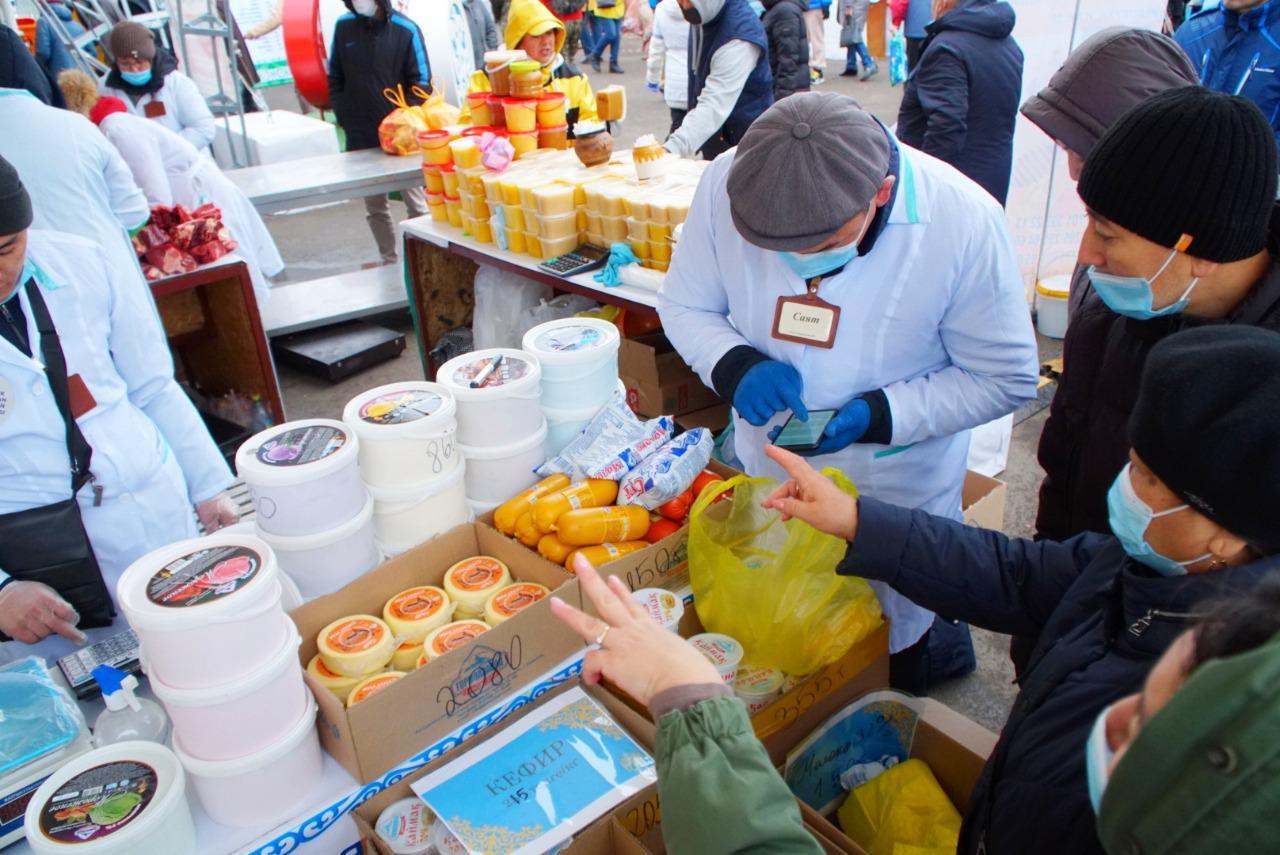 Свыше 4 300 тонн продукции привезли аграрии из всех регионов страны на ярмарки в Нур-Султан
