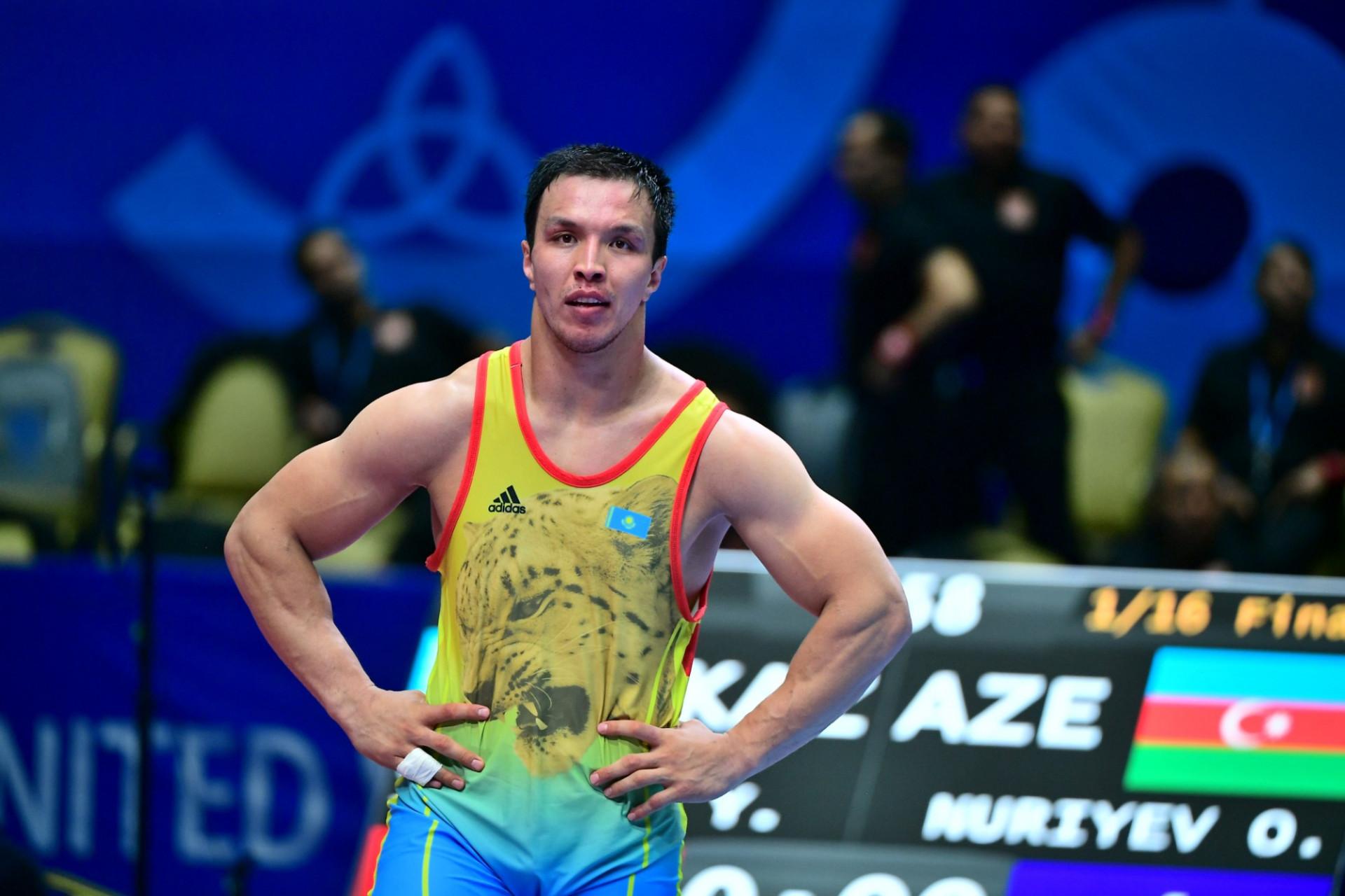 Кто победил на чемпионате Казахстана по греко-римской борьбе