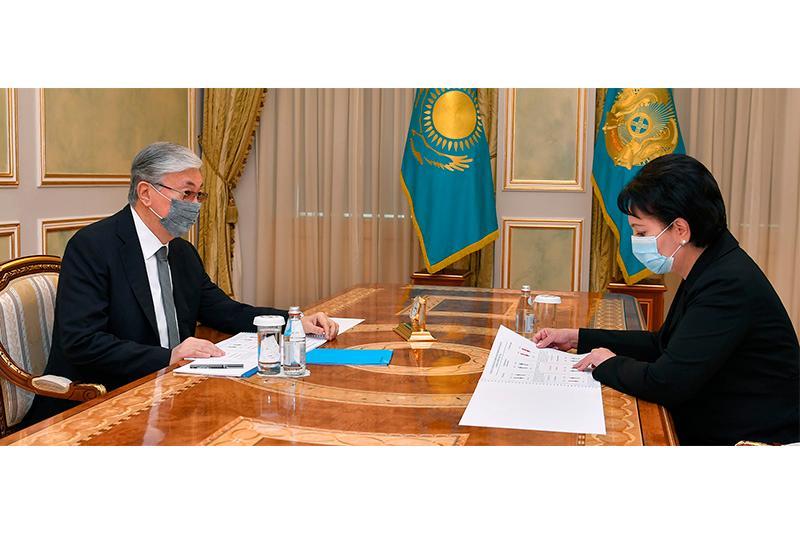 Касым-Жомарт Токаев поручил акиму Кызылординской области взять на особый контроль эпидситуацию в регионе