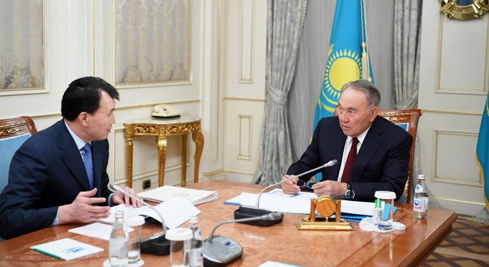 Нурсултан Назарбаев: Народ должен активно противодействовать коррупции