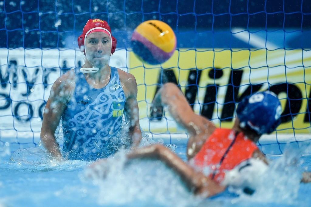 Казахстан уступил в первом матче отборочного турнира по водному поло