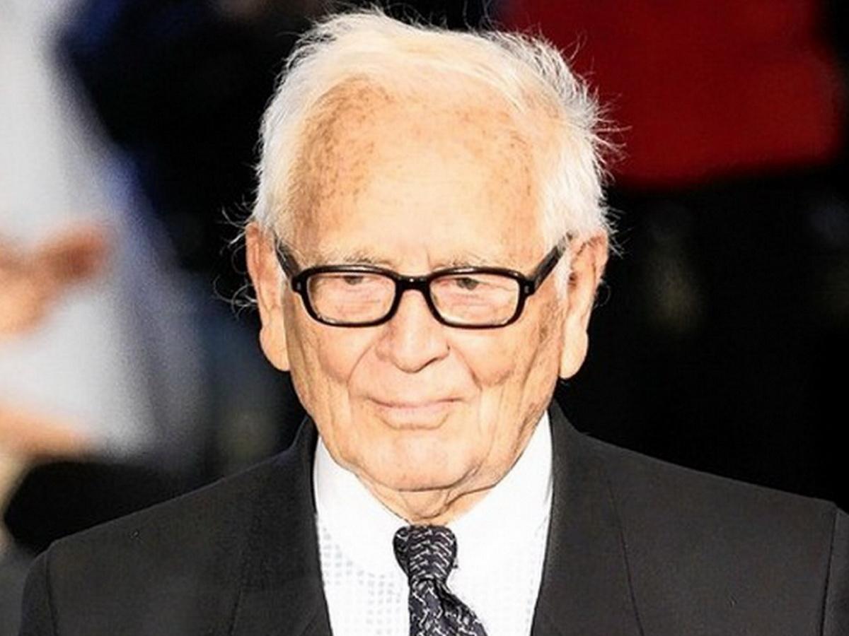 Скончался всемирно известный модельер Пьер Карден