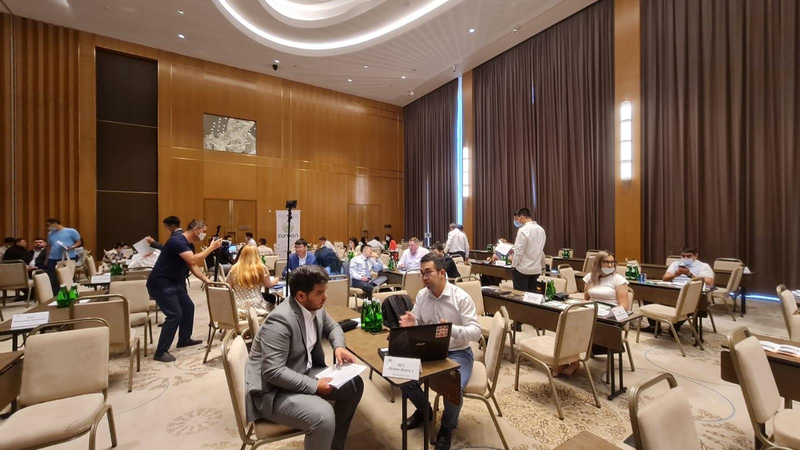 Казахстанский бизнес заключил в Ташкенте  контракты на $52 млн