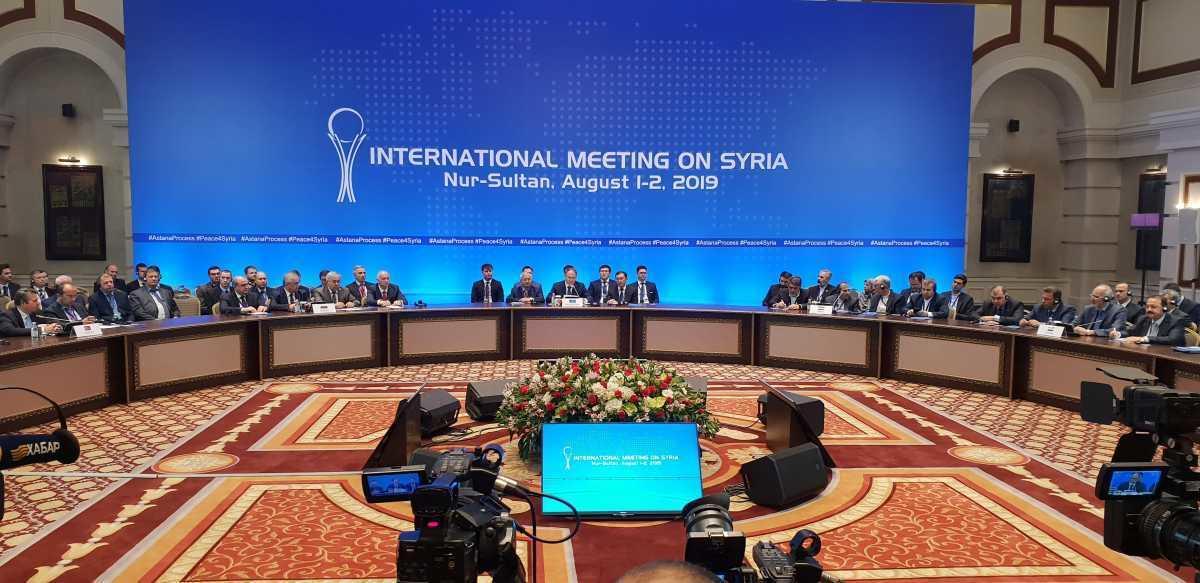14-й раунд переговоров по Сирии начинается в Нур-Султане