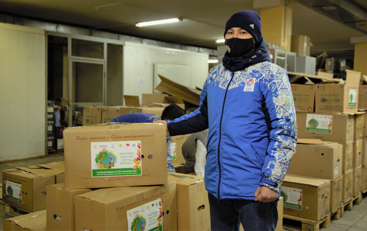 В Наурыз двум тысячам малообеспеченных семей раздадут продуктовые корзины в Нур-Султане