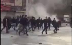 Стрельбу полиции по протестующим в Иране сняли на видео