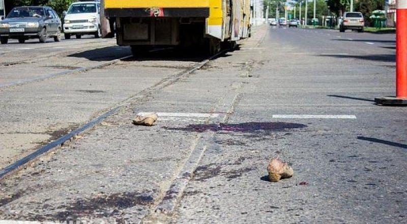 Өскемен қаласында трамвай адамды басып кетті