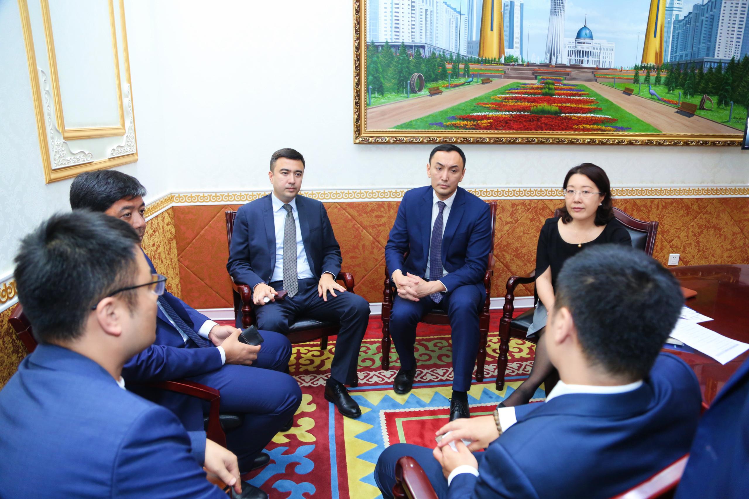Инвестиционные возможности Казахстана представлены в секретариате ШОС