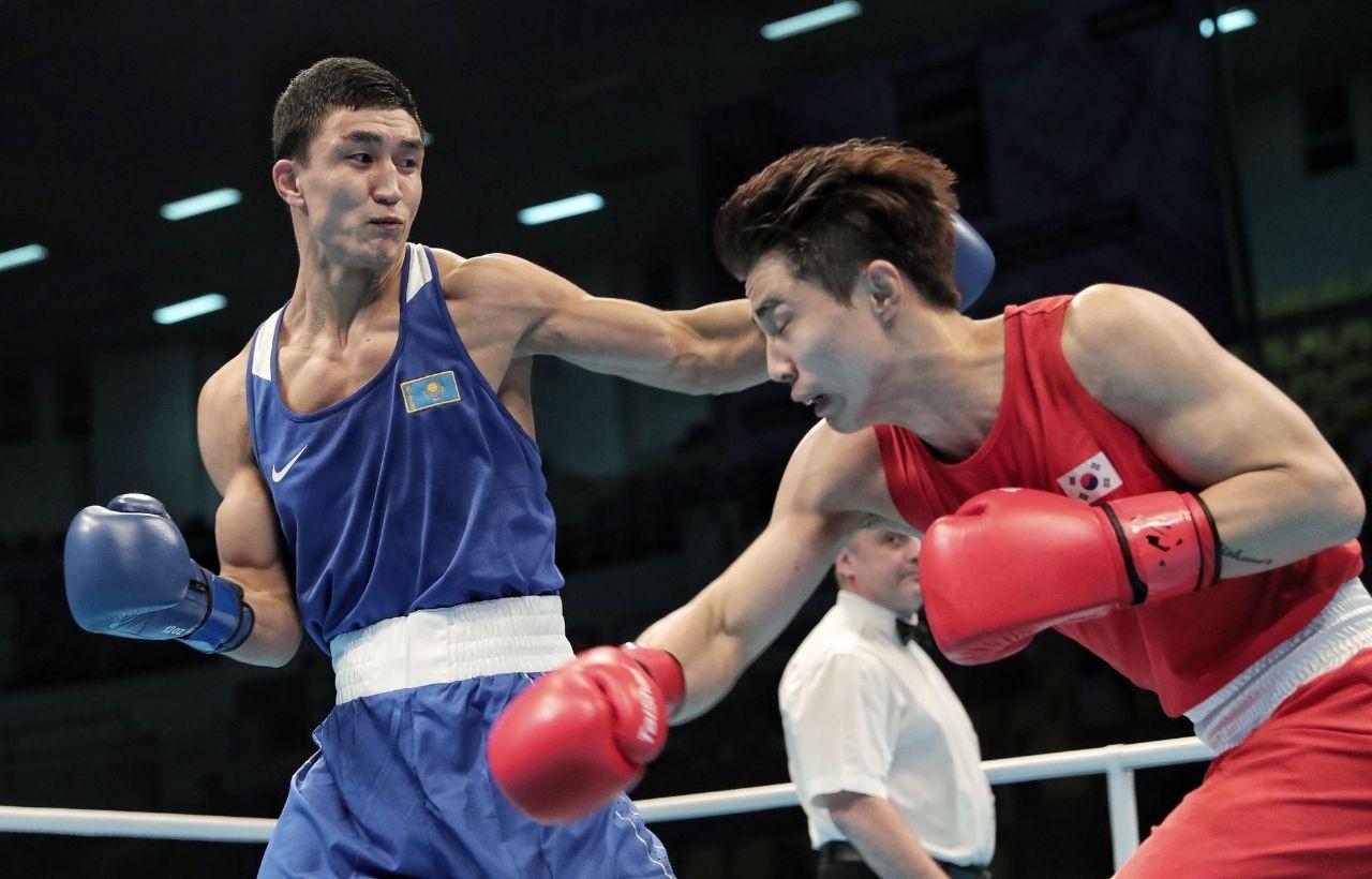 Абильхан Аманкул одержал победу в битве за лицензию на олимпийском отборе по боксу в Аммане