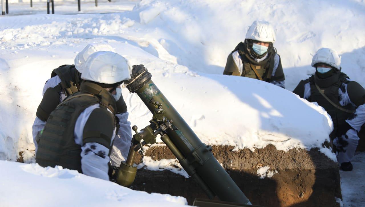 Проверены воинские части Карагандинского гарнизона