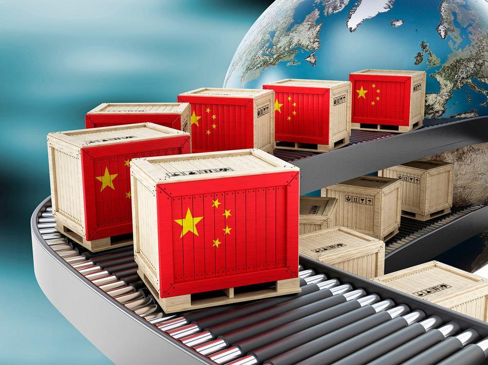 В Казахстан было завезено 957 тысяч тонн китайской продукции в 2019 году