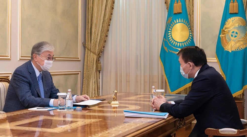 Касым-Жомарт Токаев принял председателя агентства по противодействию коррупции Алика Шпекбаева