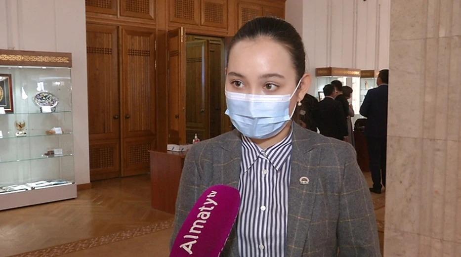 Жансая Абдумалик рассказала о планах работы в маслихате Алматы