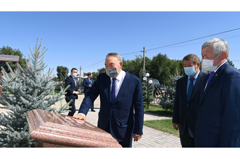 Елбасы Жамбыл облысындағы әлеуметтік-мәдени нысандарға барды