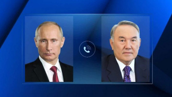 Нурсултан Назарбаев и Владимир Путин обсудили график предстоящих встреч