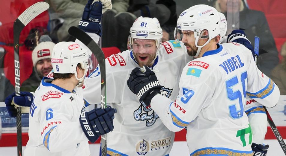 «Барыс» упрочил свои позиции в первой тройке «Востока» КХЛ