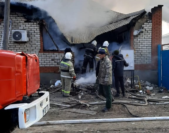 Четверо погибли при взрыве газового баллона в Кызылординской области