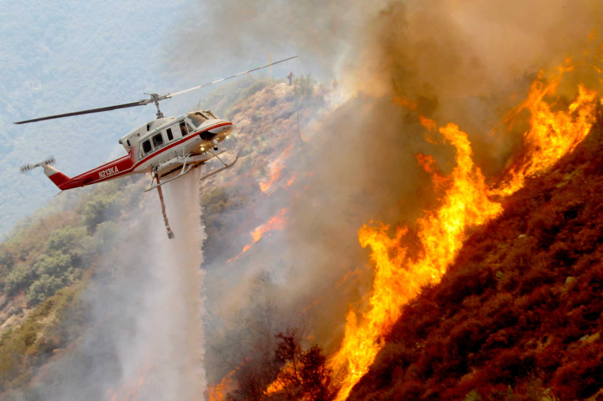 Пожар в Риддерском лесхозе распространился на 14 домов поселка