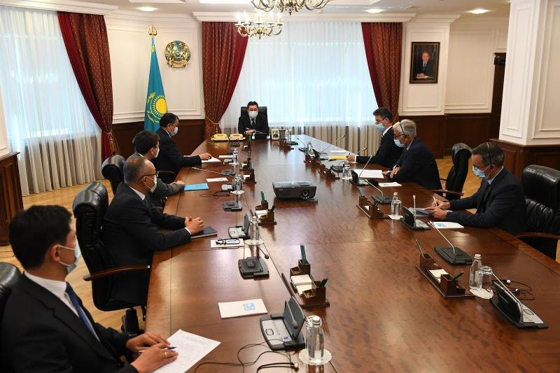 ҚР Премьер-Министрі «Orano» француз атом компаниясының басшысымен кездесті