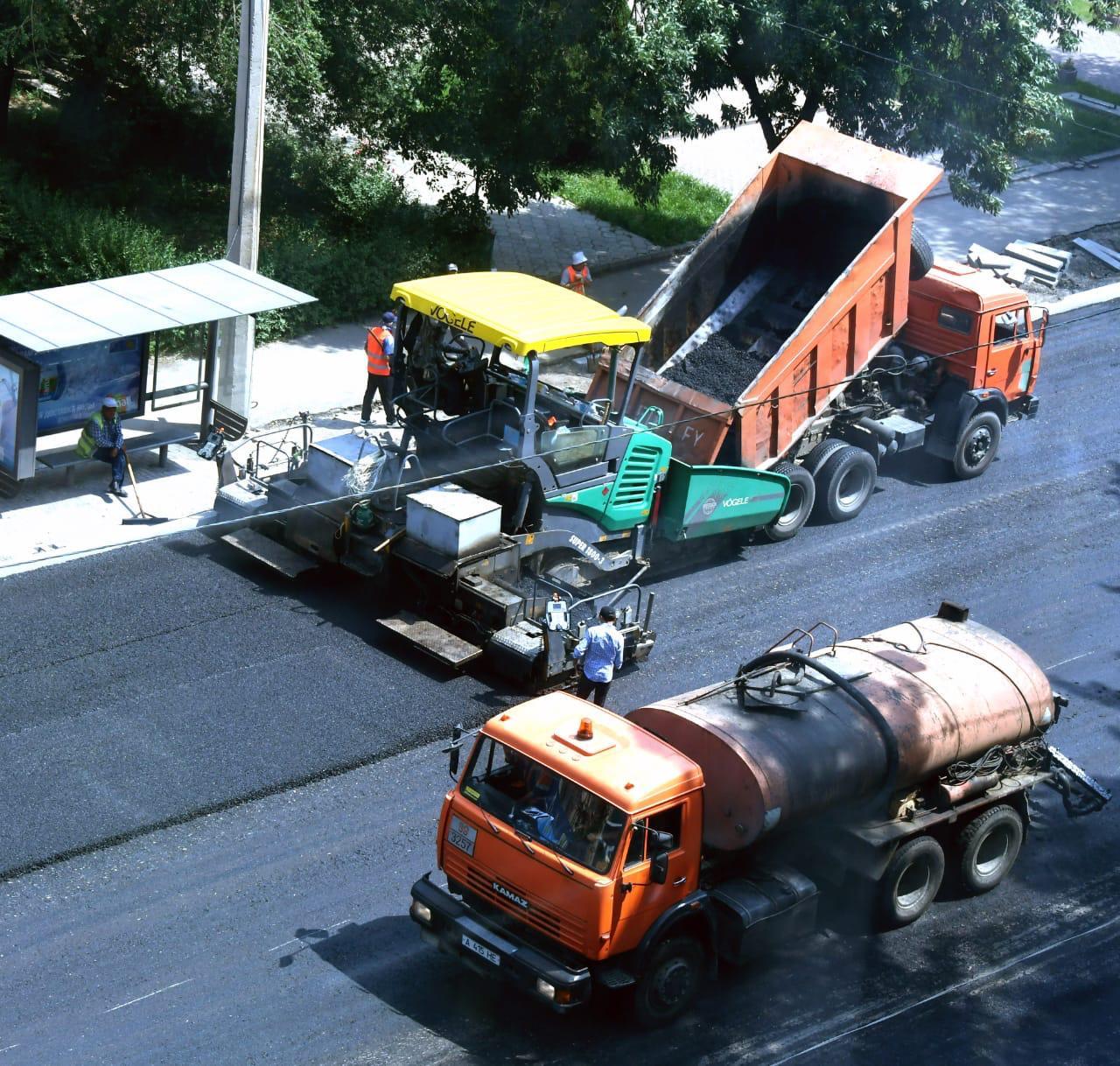 Алматының шеткі аумақтарында 111 км жаңа жолдар пайда болады