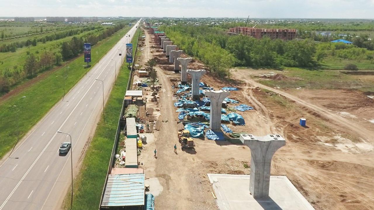 15 млн тенге потратили бизнесмены на благоустройство территории, занятой АСТАНА LRT