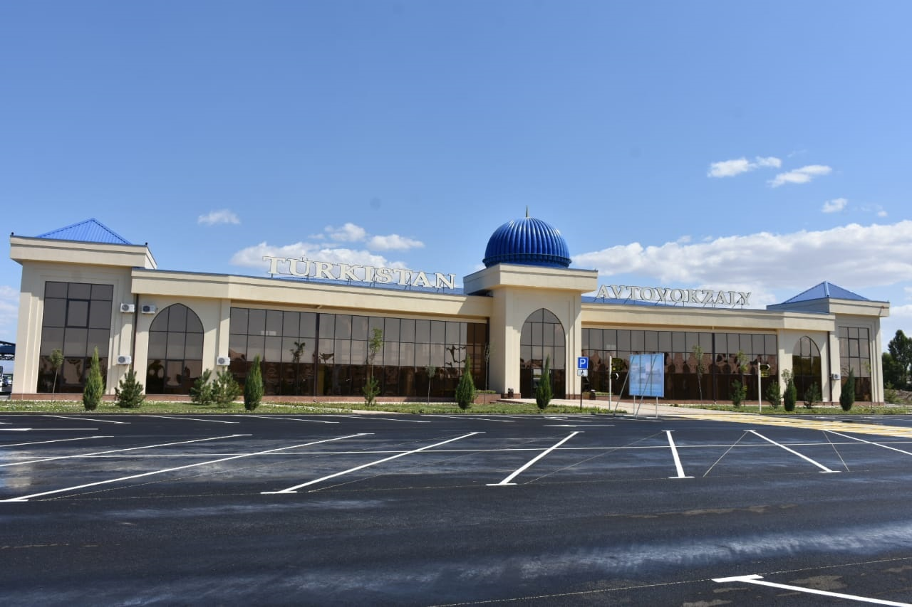 Автовокзал открыли в Туркестане