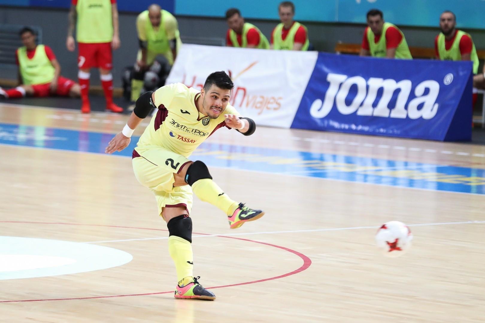Футзал: «Кайрат» вновь проиграл в матче Лиги чемпионов
