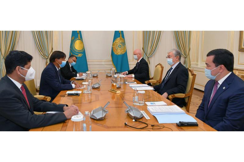 Глава ArcelorMittal представил президенту РК новую инвестиционную программу