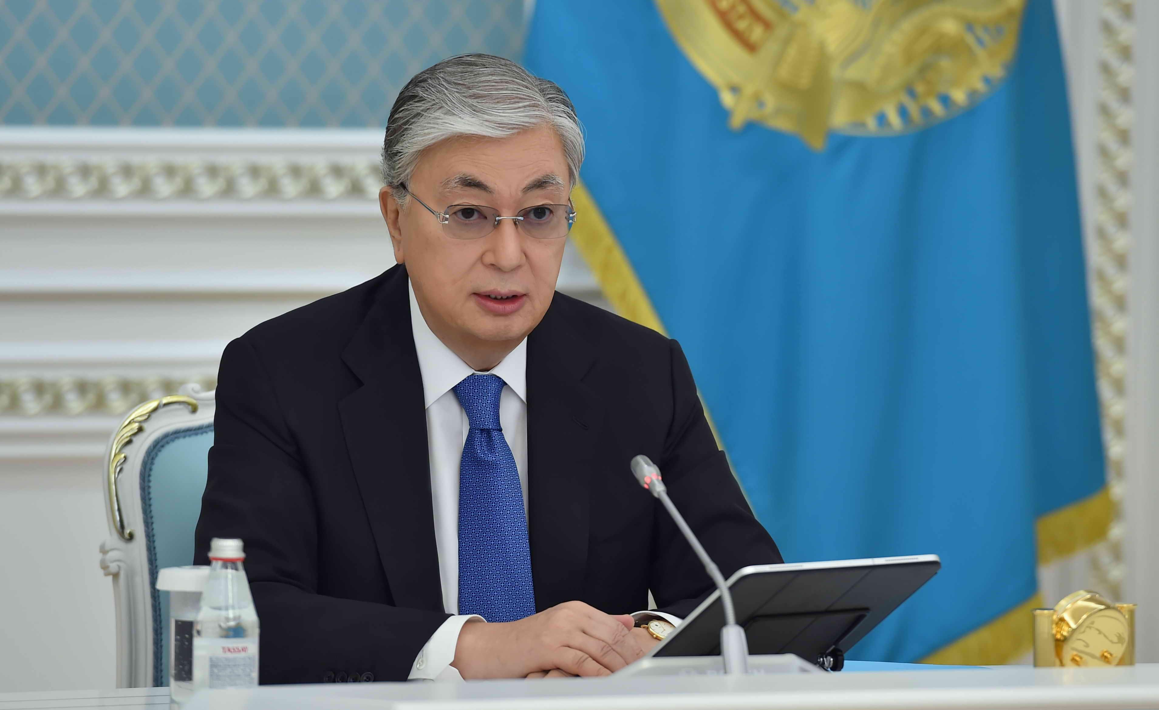 Обращение Касым-Жомарта Токаева о ситуации в стране в связи с  COVID-19