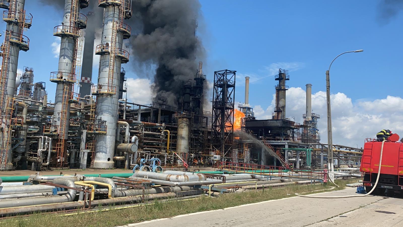 Пожар на НПЗ в Румынии ликвидирован – KMG International