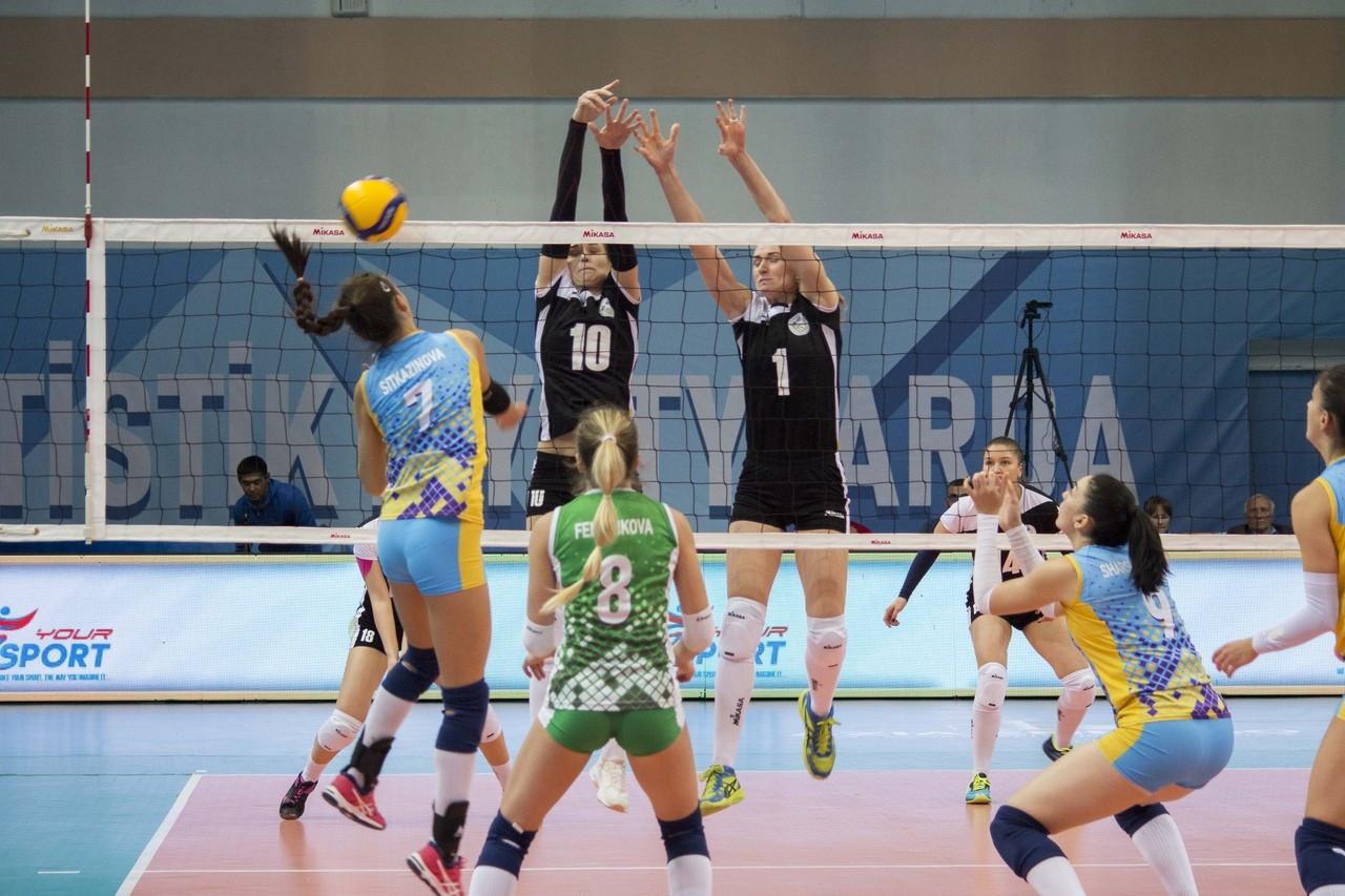 Женский ЧРК по волейболу: результаты третьего тура