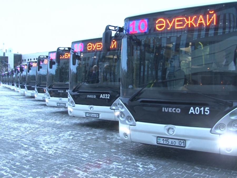 Елордадағы автобустар 12 мамырда жүре бастайды