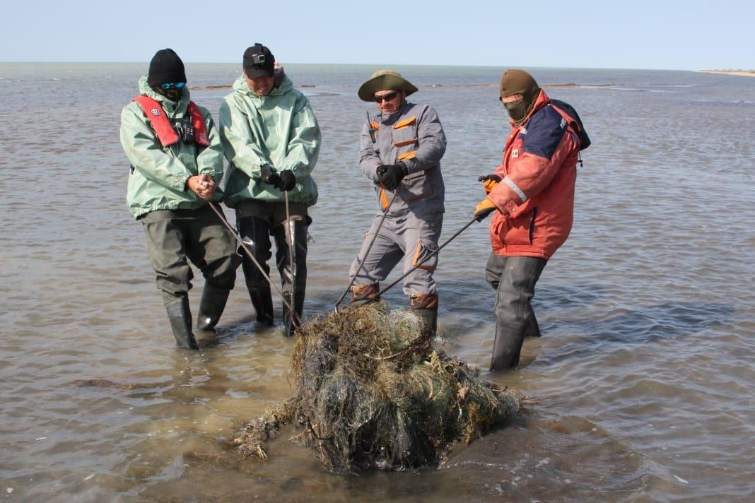 Каспий теңізінде биыл қоқыс азайғанмен, құрылған аулар көбейген