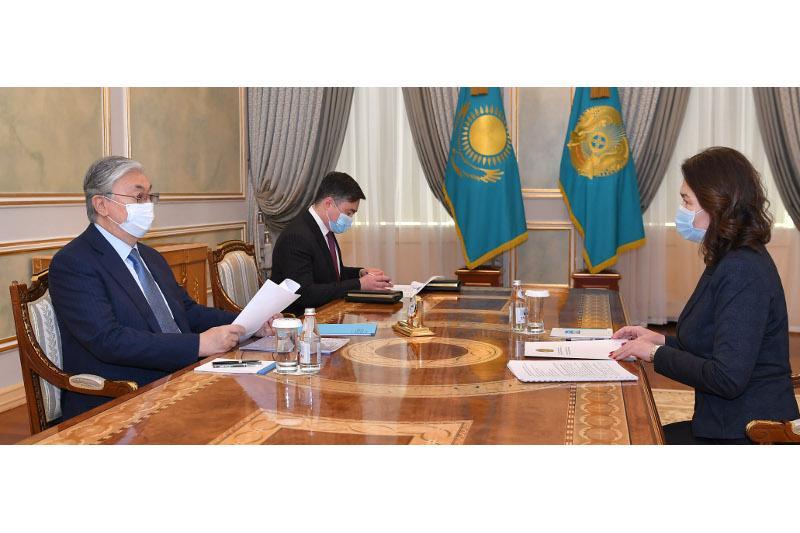 Касым-Жомарт Токаев принял председателя агентства по делам государственной службы