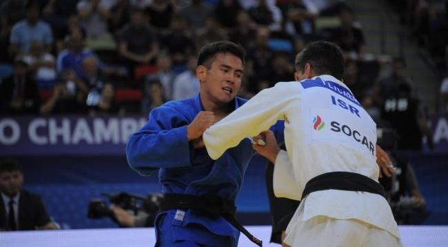 Гран-при по дзюдо в Тель-Авиве: Ерлан Серикжанов завоевал серебро