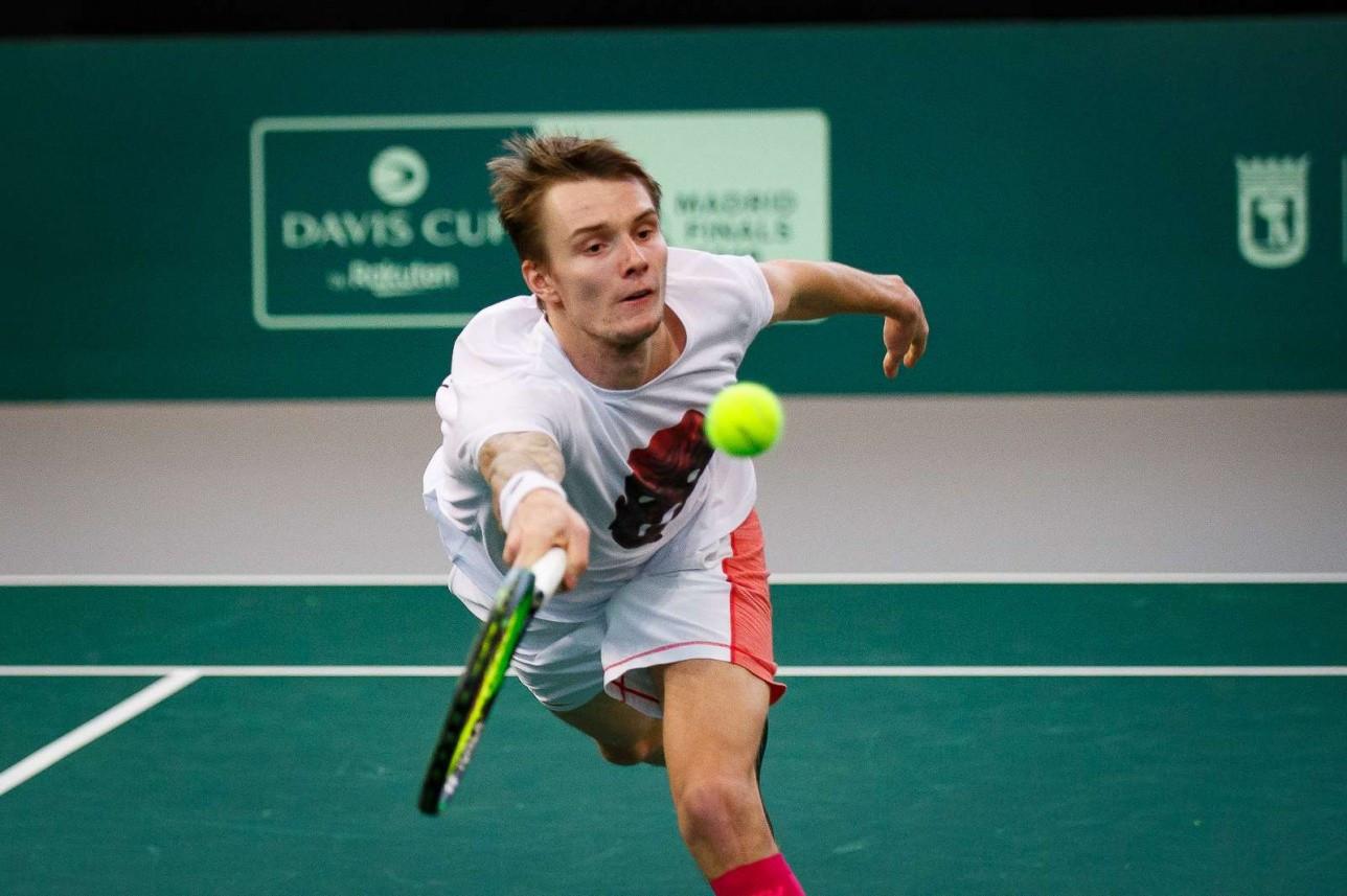 Александр Бублик выбыл из турнира ATP в Санкт-Петербурге