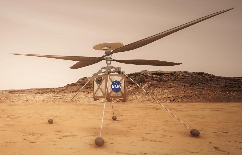 Первый полет вертолета NASA на Марсе запланирован на 19 апреля