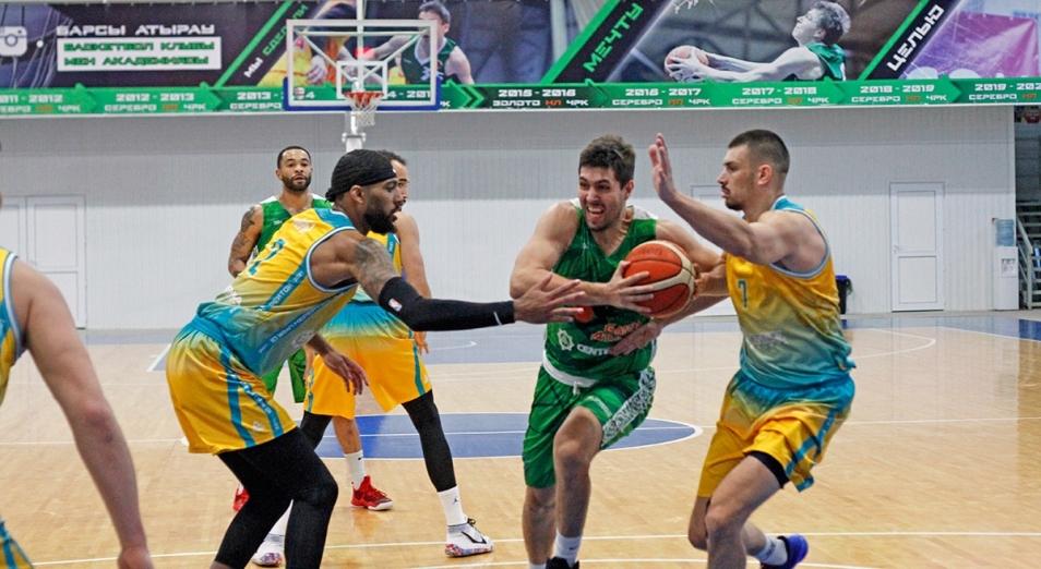 Баскетбольная «Астана» вплотную подошла к рекорду предшественника