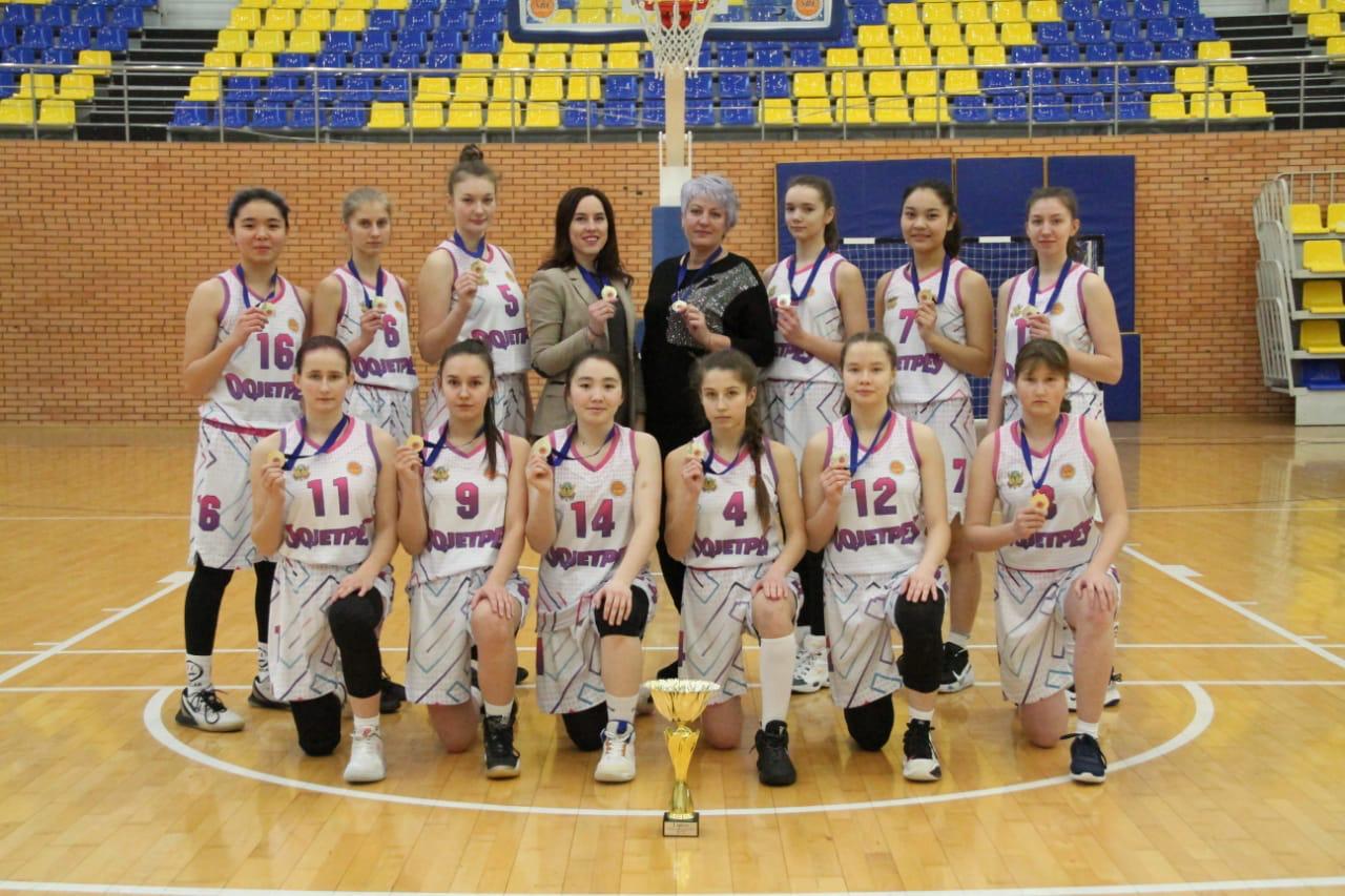 Акмолинские баскетболистки стали чемпионами Казахстана