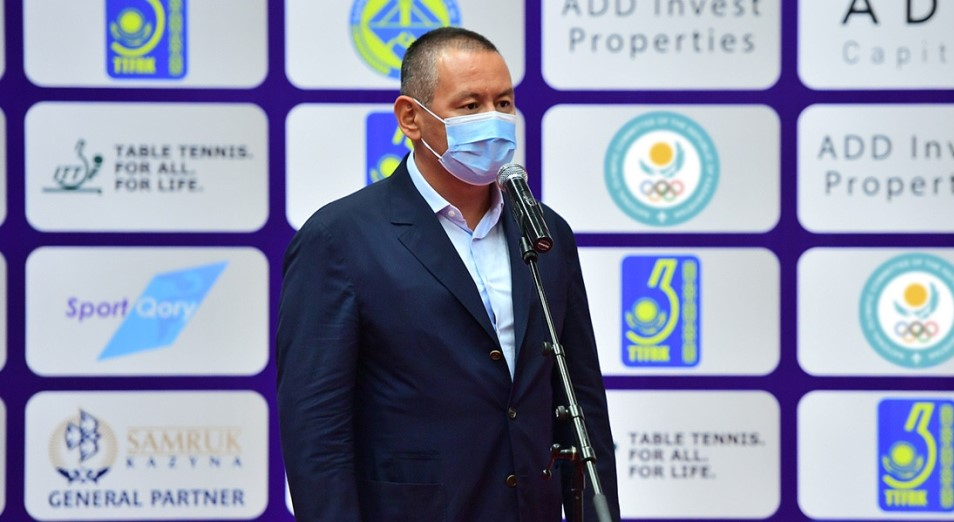Данияр Абулгазин избран вице-президентом Азиатского союза настольного тенниса