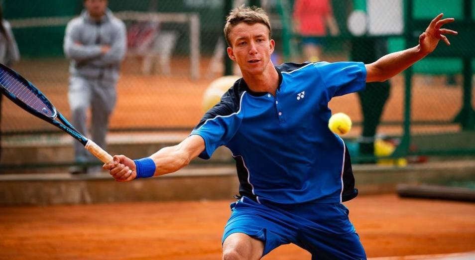 Трое казахстанцев прошли стартовый раунд одиночки домашнего турнира ITF