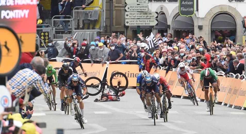 На Тур де Франс прошла акция протеста