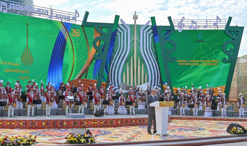 Токаев: «Домбра – это душа казахского народа»