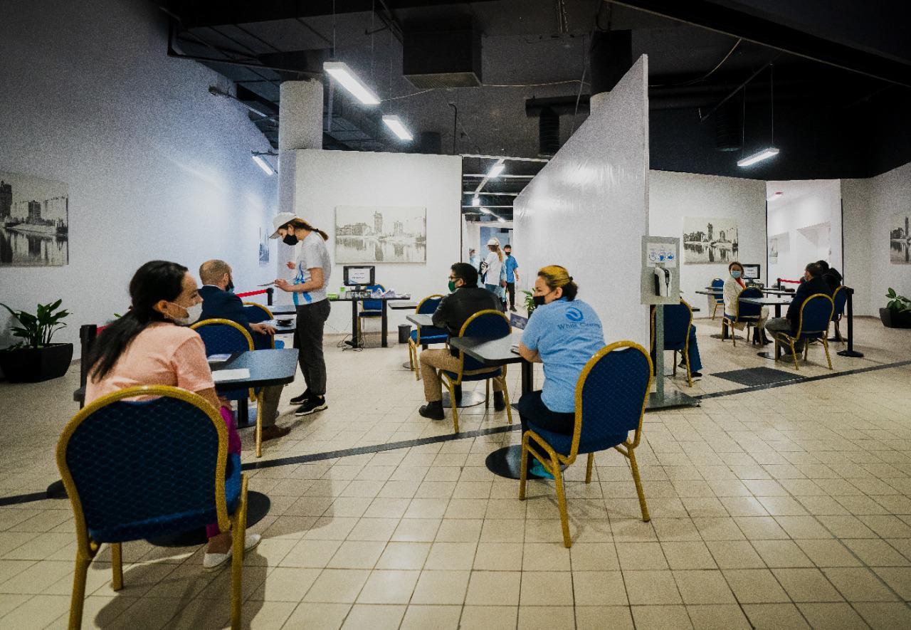 Жители Нур-Султана могут вакцинироваться еще в одном ТРЦ