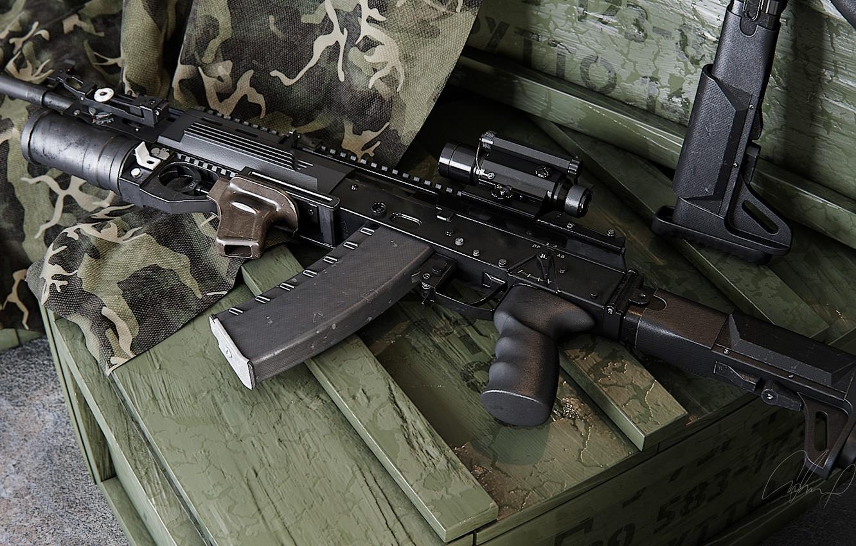 Казахстану поставили новые автоматы АК-12