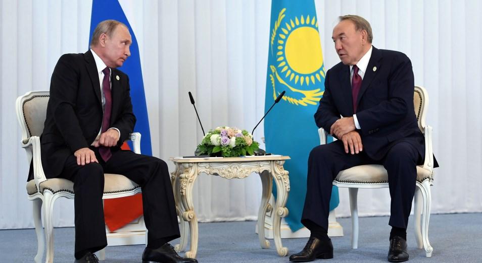 Путин пообещал Назарбаеву помочь в возвращении в Казахстан останков хана Кенесары