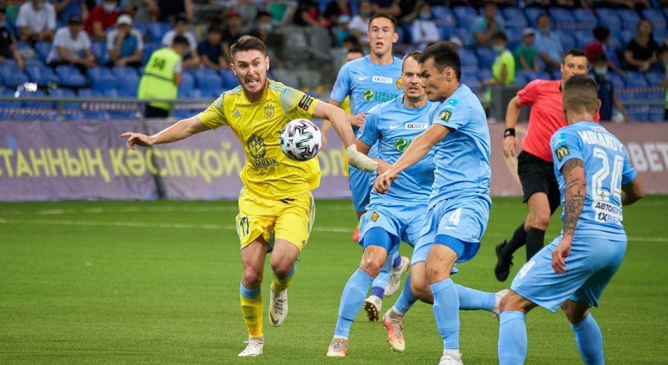 «Астана» – «Кайрат»: ничья на экваторе в пользу столичного клуба